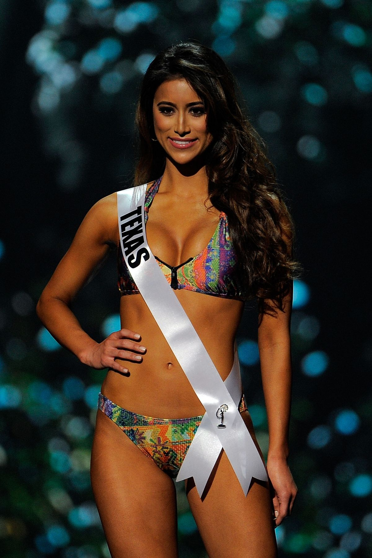 LAUREN GUZMAN at Miss USA 2014 Preliminary Competition