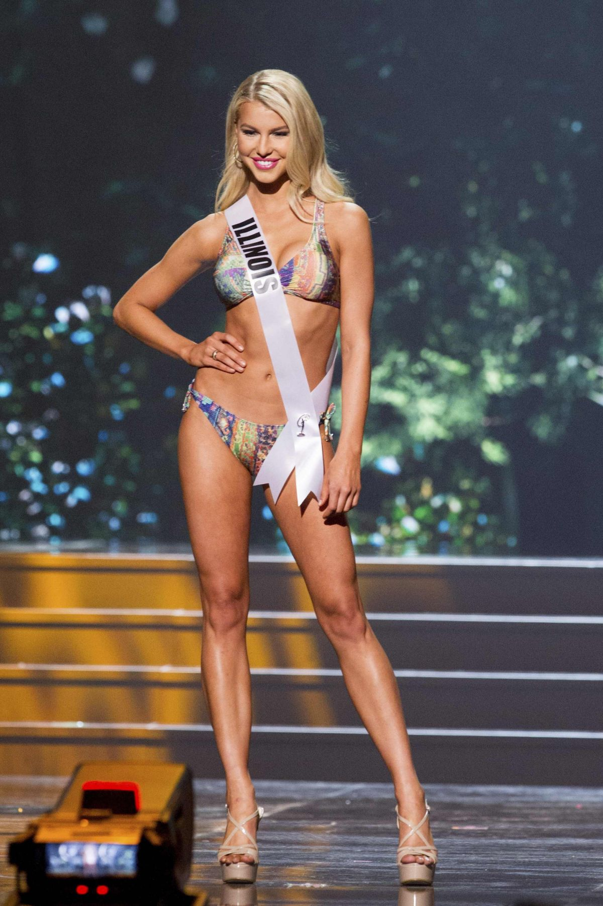 LEXI ATKINS at Miss USA 2014 Preliminary Competition
