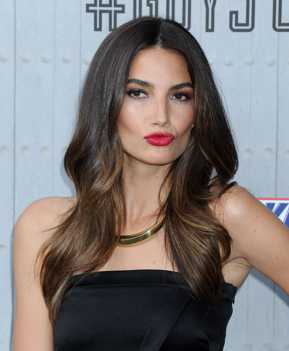 LILY ALDRIDGE at Spike TV's Guys Choice Awards in Culver City