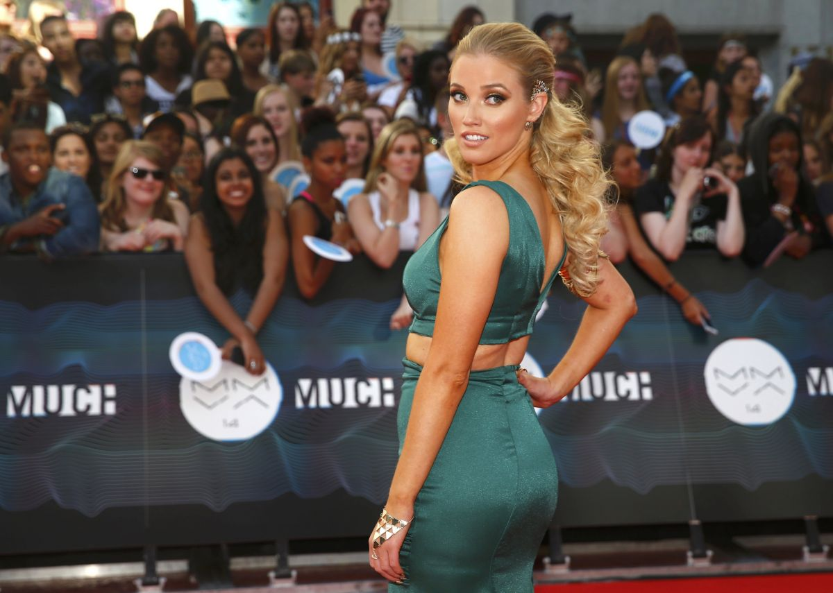 LIZ TRINNEAR at Muchmusic Video Awards in Toronto