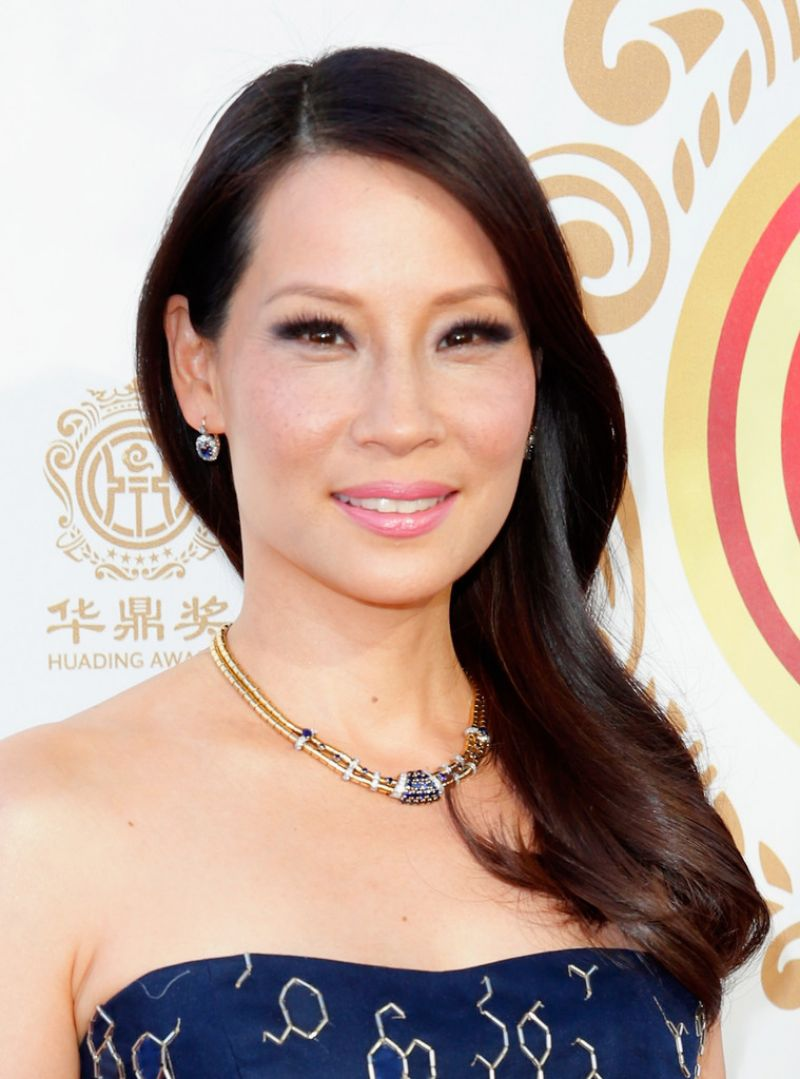 LUCY LIU at Huading Film Awards in Los Angeles
