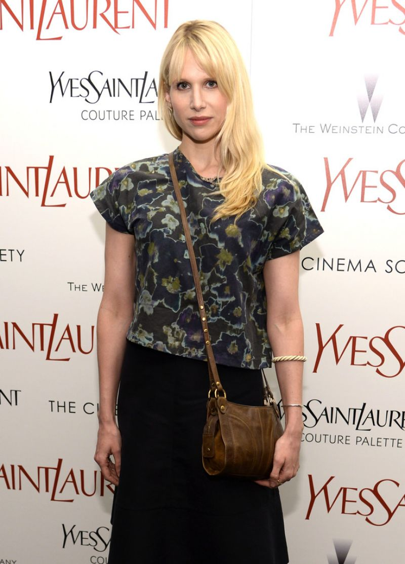 LUCY PUNCH at Yves Saint Laurent Premiere in new York