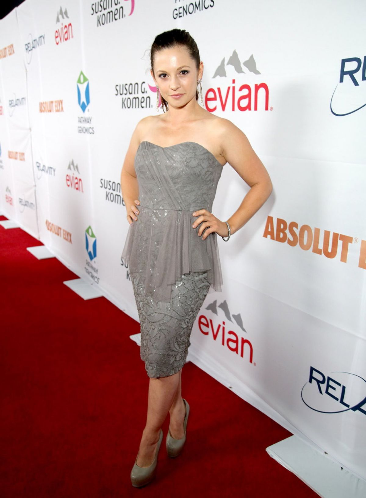 MACKENZIE ROSMAN at Pathway to the Cure Fundraiser Benefit in Santa Monica