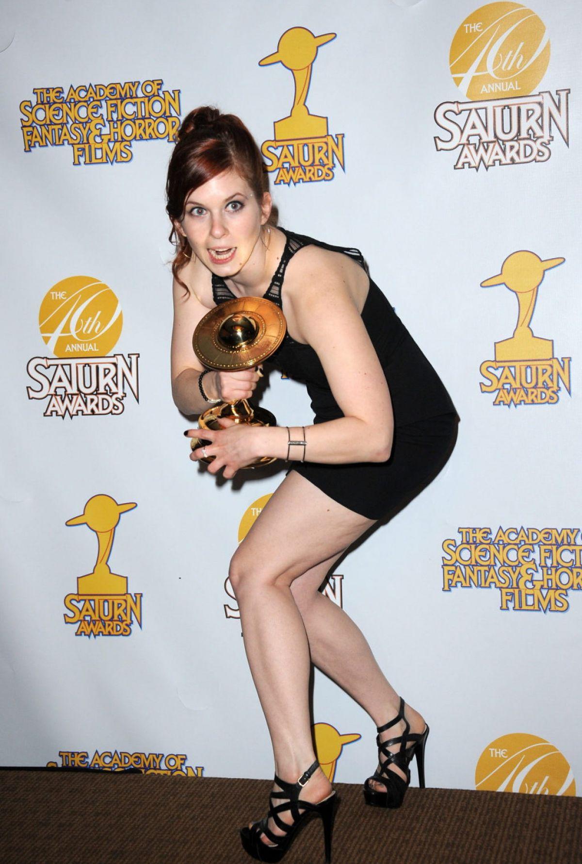 MAGDA APANOWICZ at 2014 Saturn Awards in Burbank