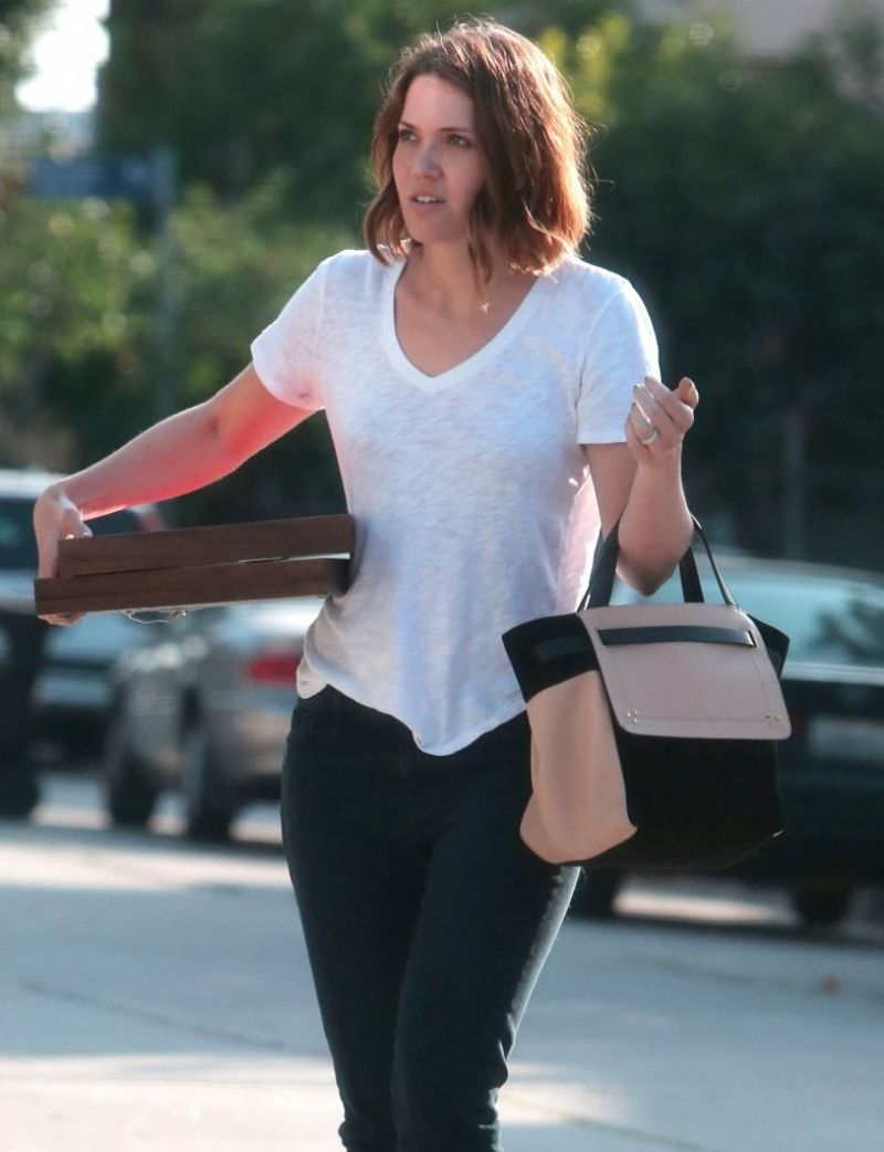 MANDY MOORE Out and About in Los Angeles 1006