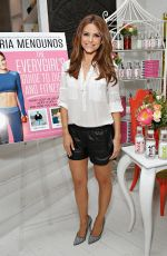 MARIA MENOUNOS at Hint Water Celebrates Release of Her New Book in Ney York