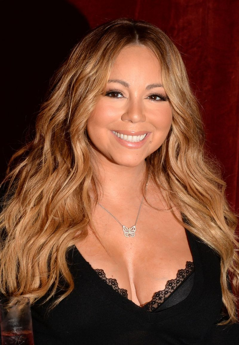 MARIAH CAREY at Butterfly Launch in New York - HawtCelebs ... Mariah Carey