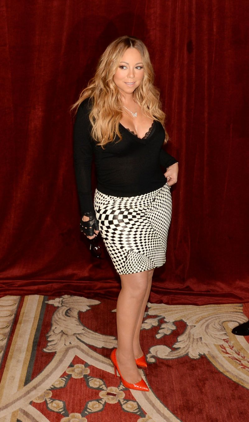 MARIAH CAREY at Butterfly Launch in New York - HawtCelebs