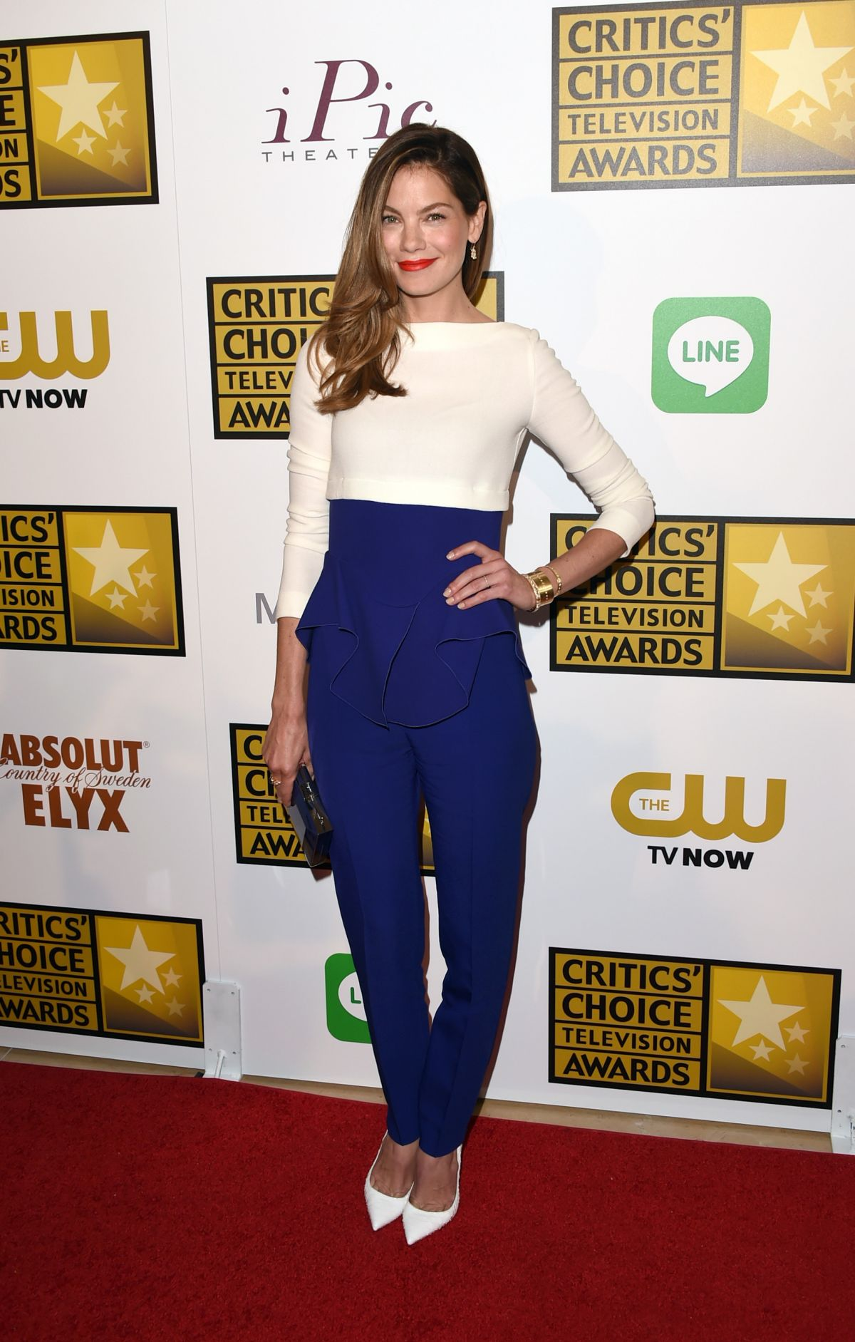 MICHELLE MONAGHAN at 2014 Critics Choice Television Awards in Beverly Hills