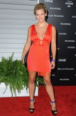 MIESHA TATE at Maxim's Hot 100 Women of 2014 Celebration in West Hollywood