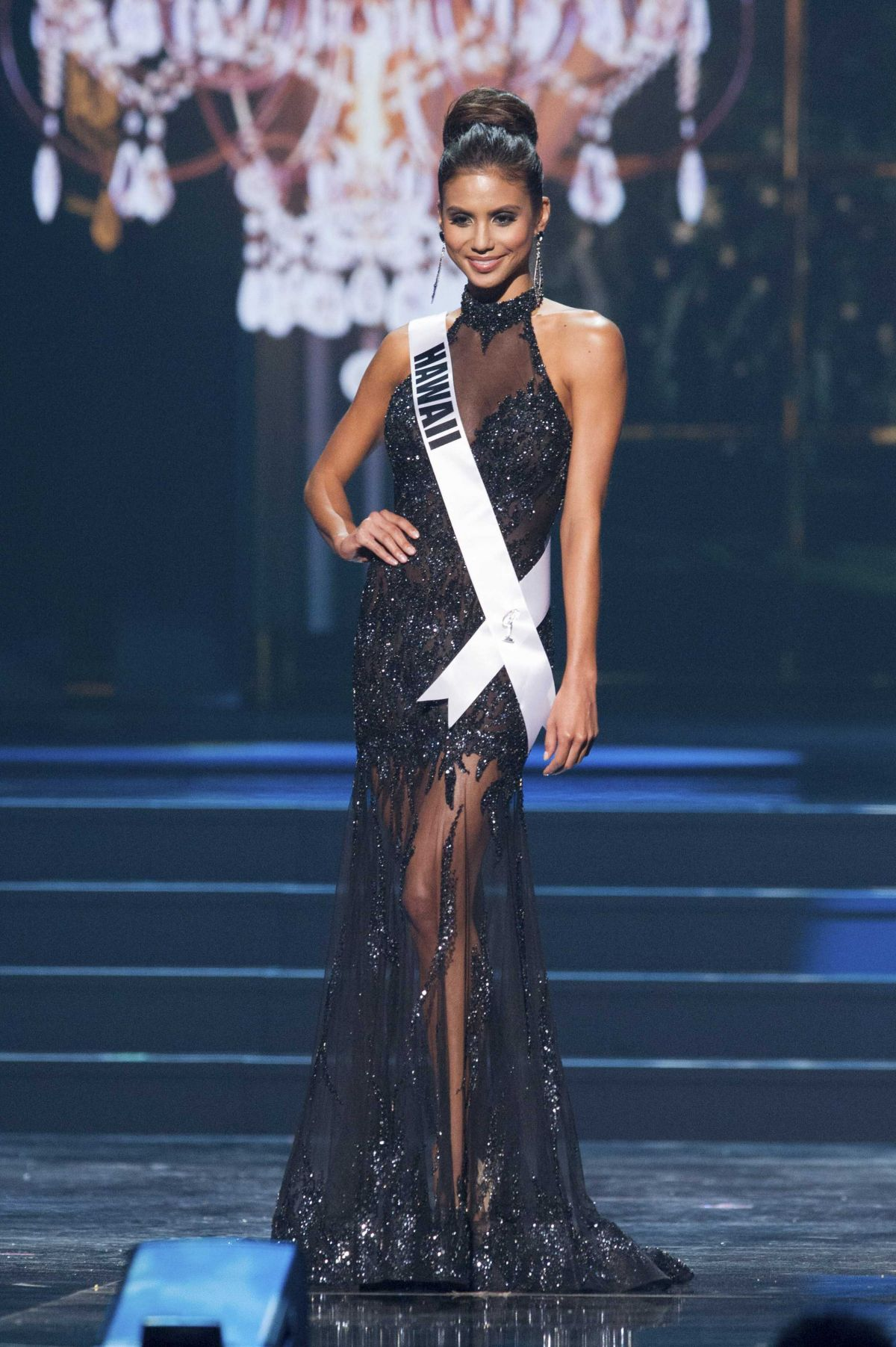 MOANI HARA at Miss USA 2014 Preliminary Competition