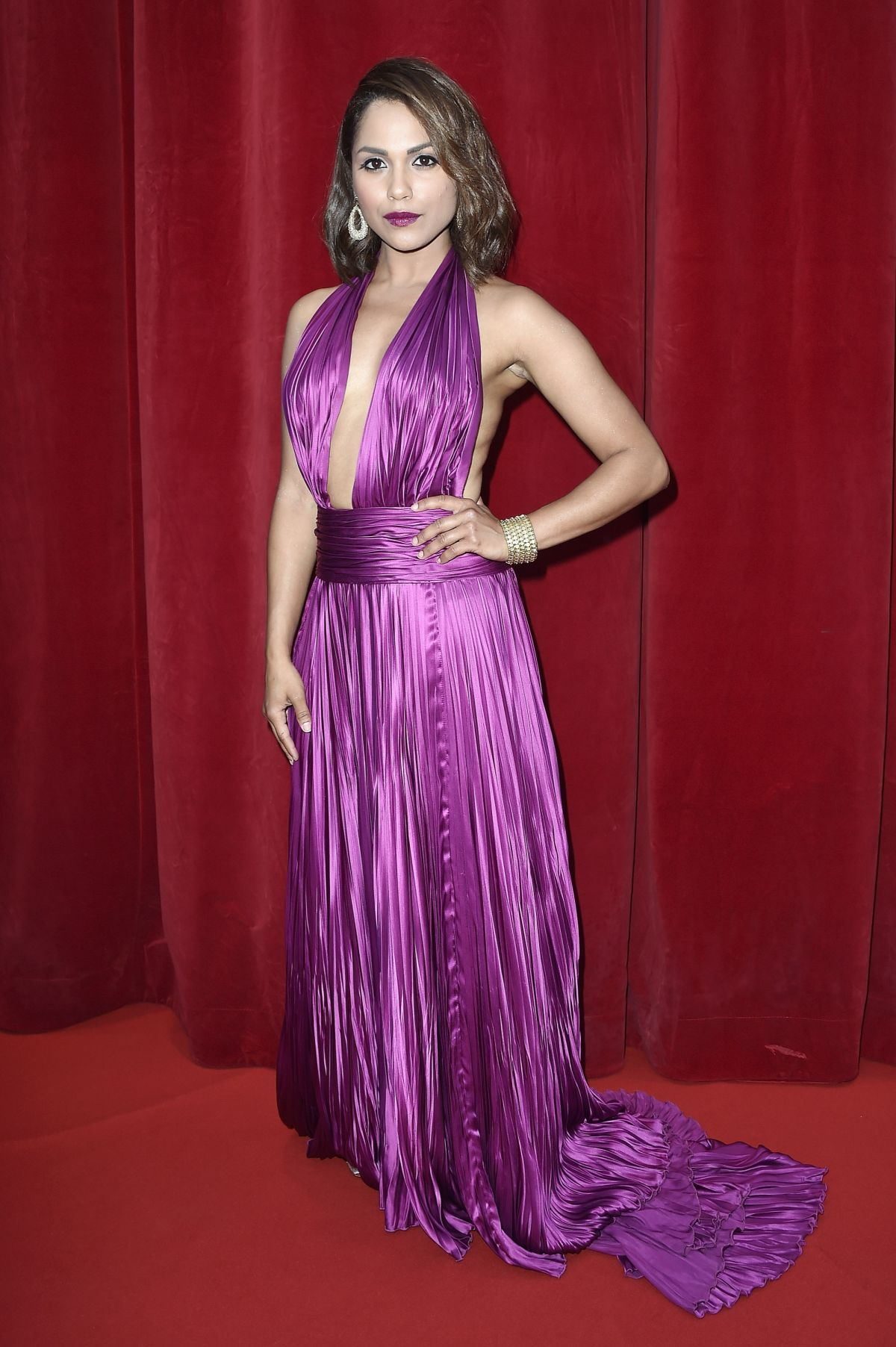 MONICA RAYMUND at 2014 Monte Carlo TV Festival Closing Ceremony