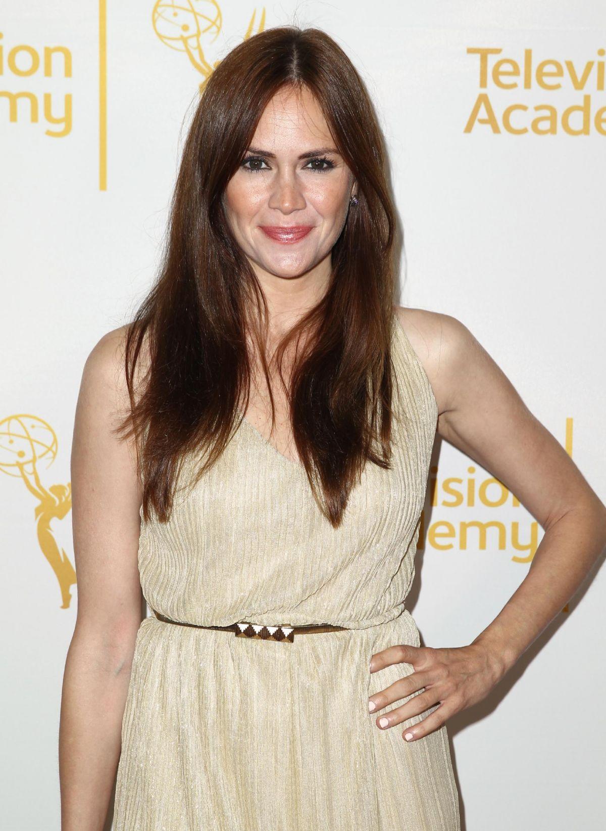 NATALIA LIVINGSTON at Daytime Emmy Nominee Reception