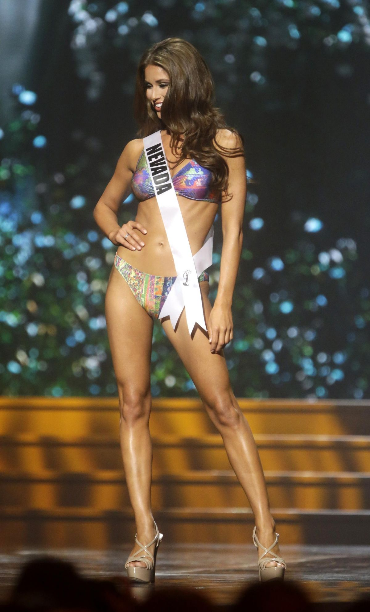 NIA SANCHEZ at Miss USA 2014 Preliminary Competition