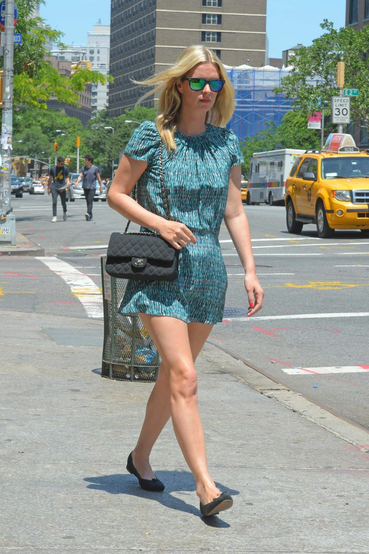 NICKY HILTON Out and About in New York 1806