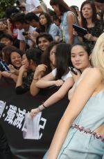 NICOLA PELTZ at Transformers: Age of Extinction Premiere in Hong Kong