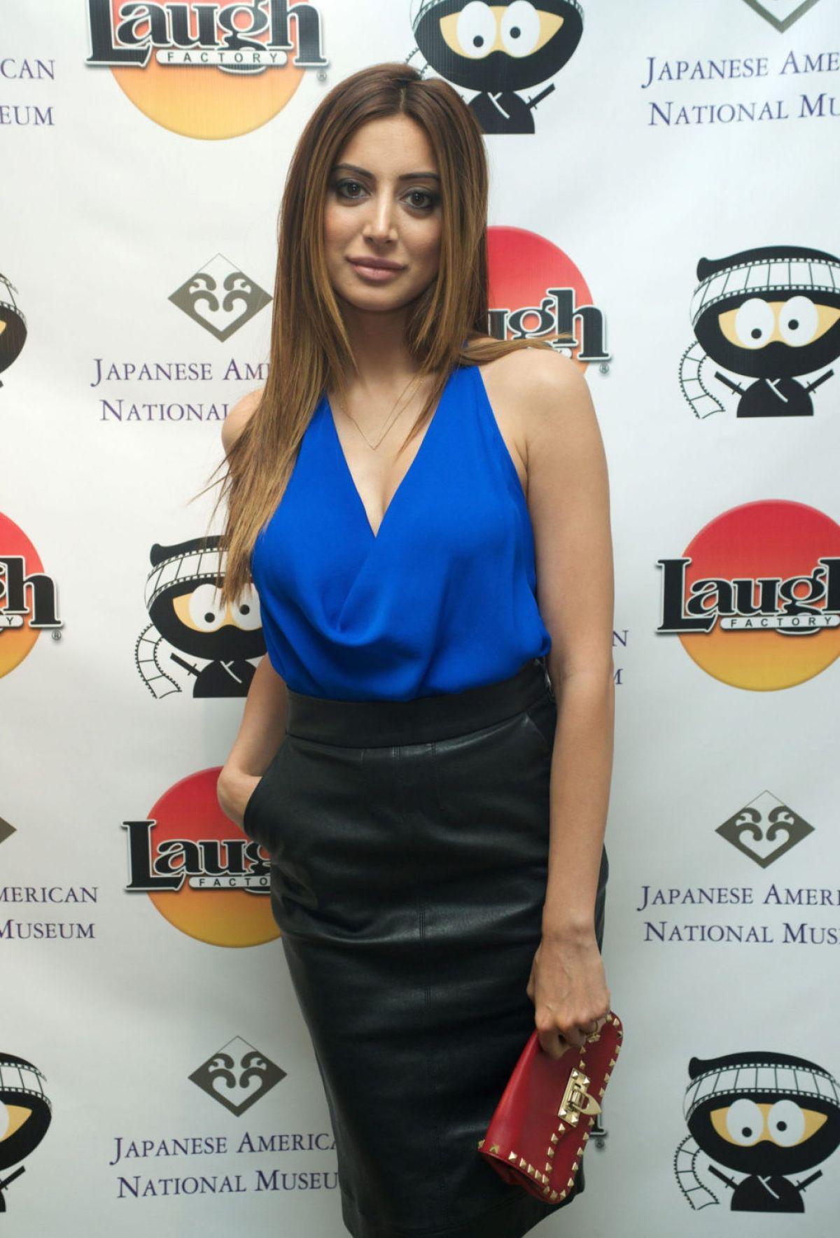 NOUREEN DEWULF at Comedy Ninja Film Festival Opening Night in Los Angeles
