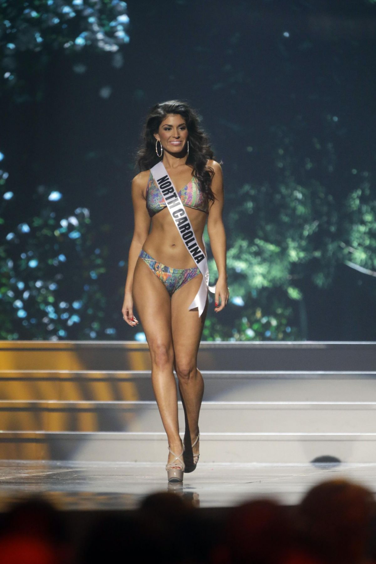 OLIVIA OLVERA at Miss USA 2014 Preliminary Competition