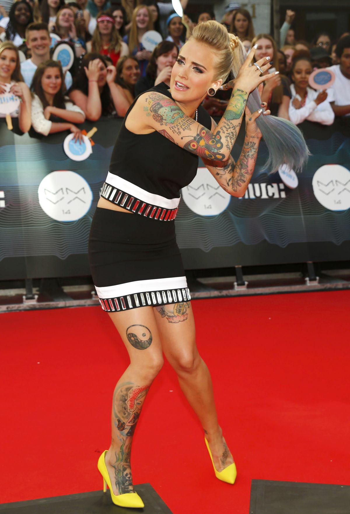 PHOEBE DYKSTRA at Muchmusic Video Awards in Toronto