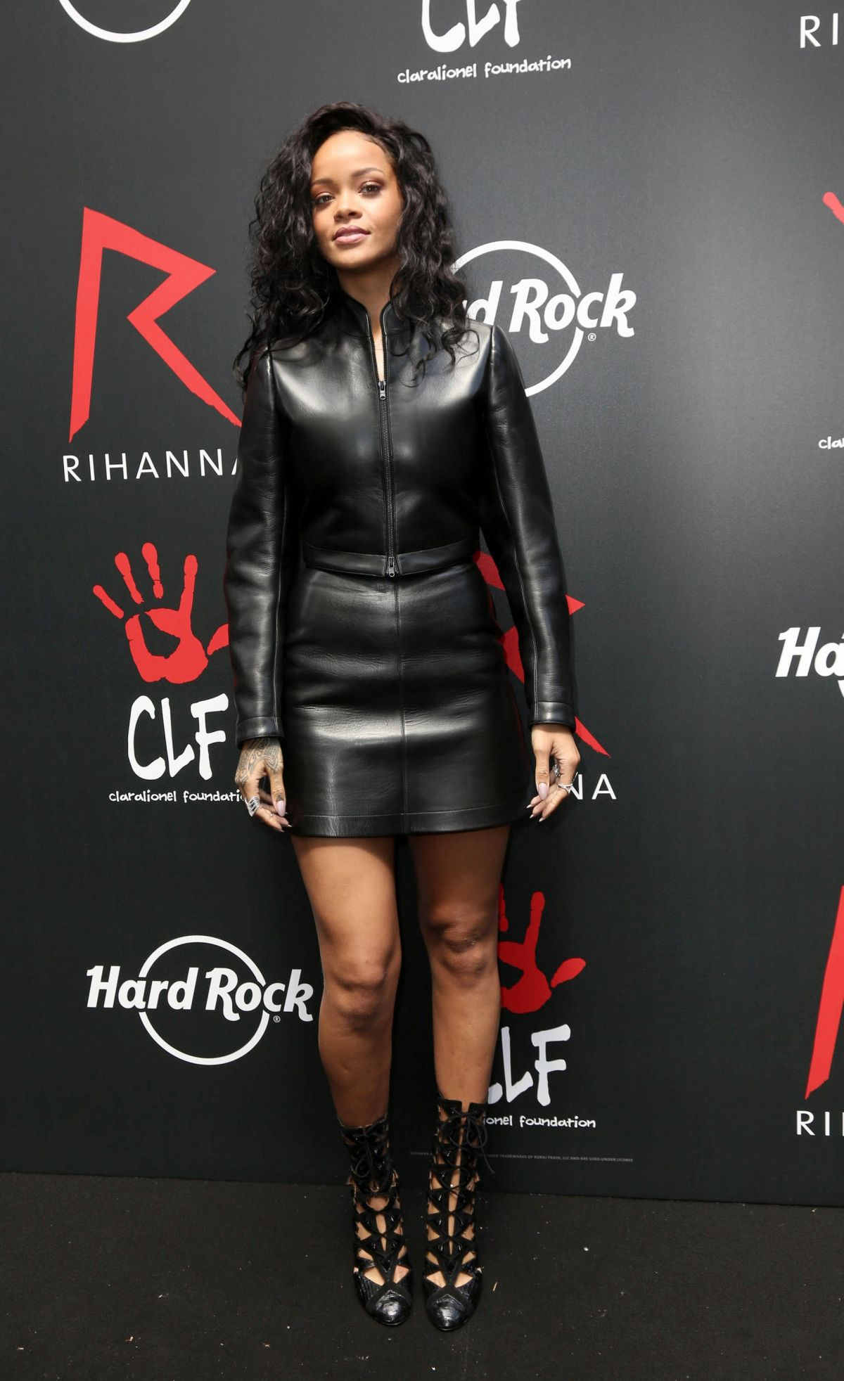 Rihanna At Charity T Shirt Release Event With Hard Rock