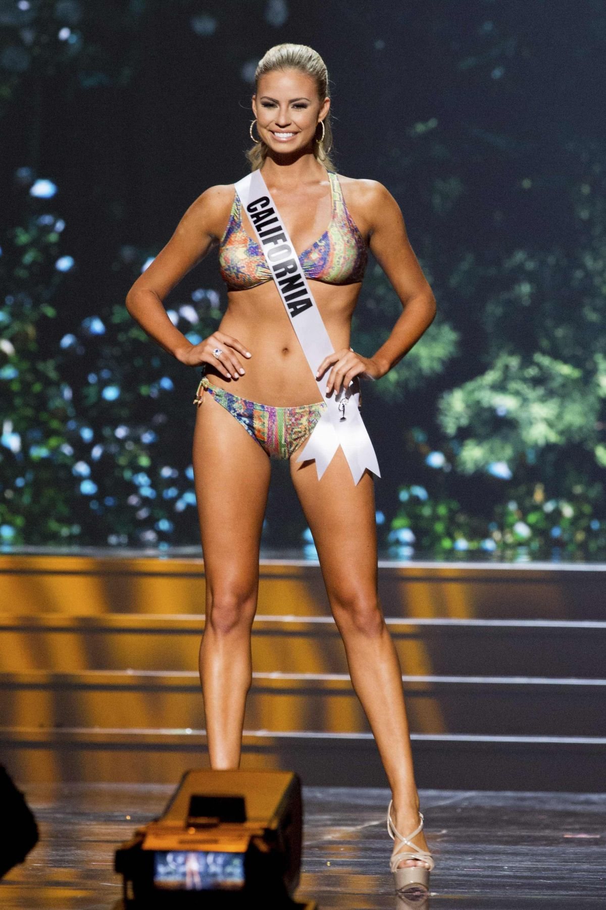 SACCANDRA KUNZE at Miss USA 2014 Preliminary Competition