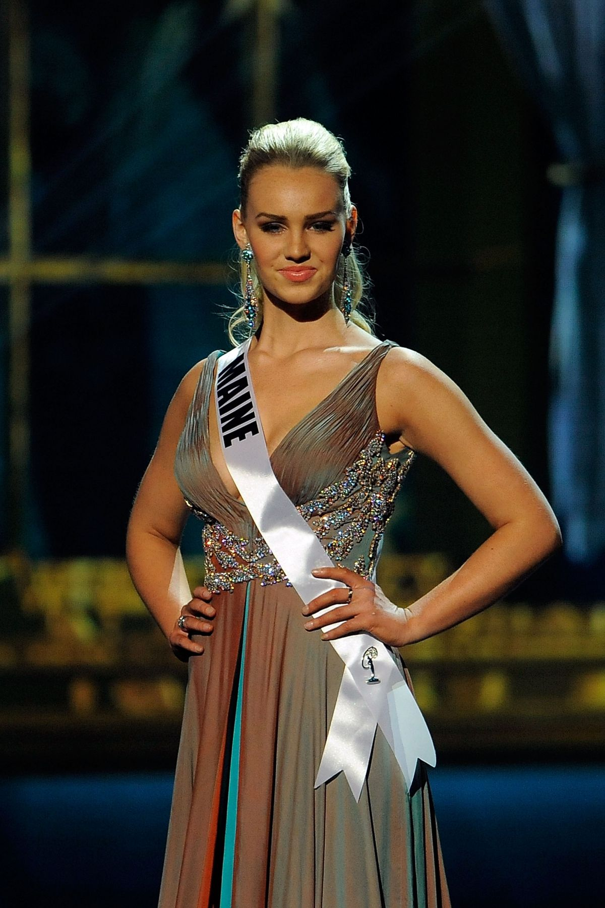 SAMANTHA DAHLBORG at Miss USA 2014 Preliminary Competition