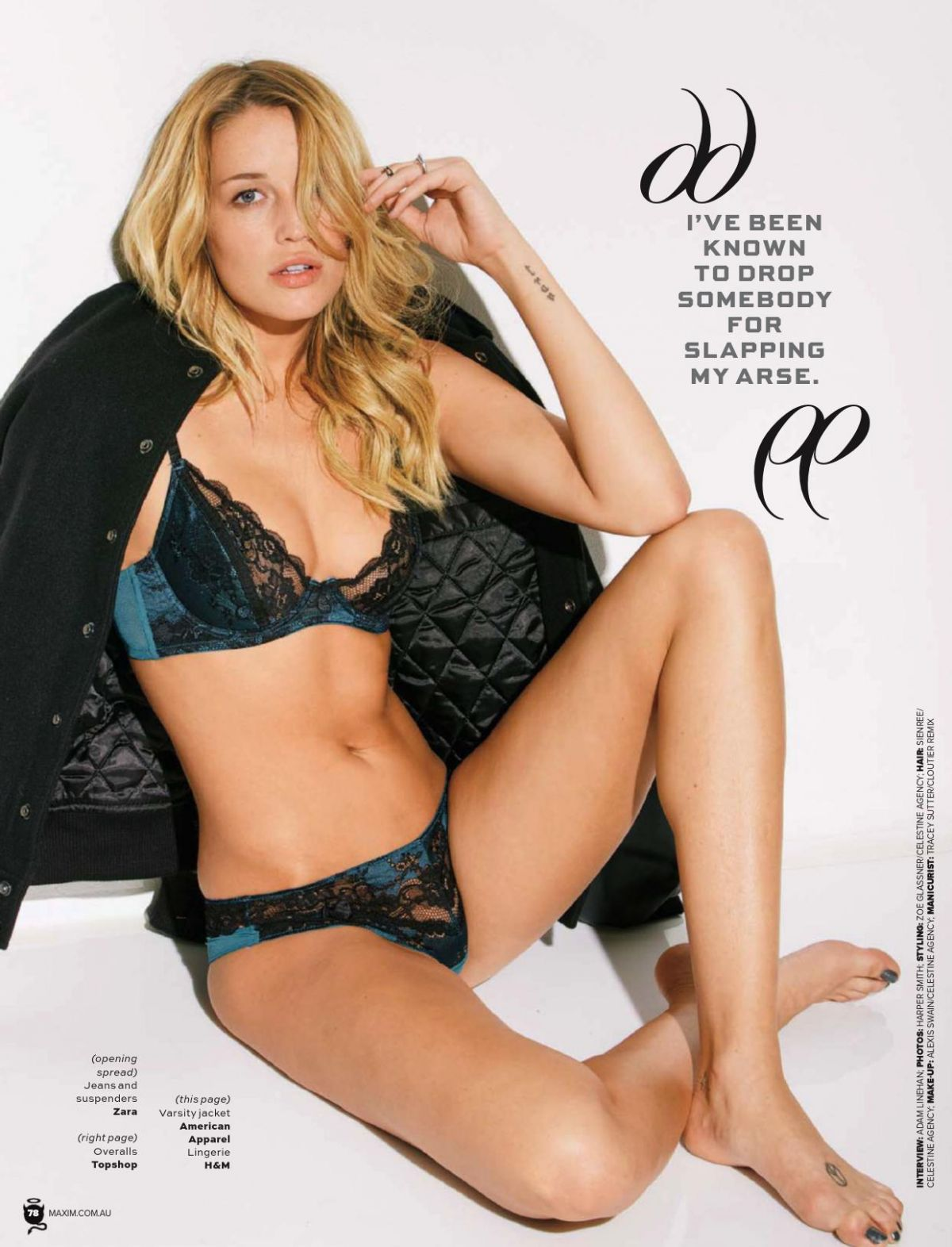 SARAH DUMONT in Maxim Magazine, May 2014 Issue