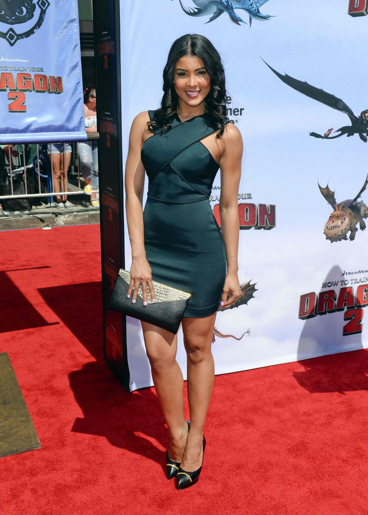 SARODJ BERTIN at How to Train Your Dragon 2 Premiere in Los Angeles