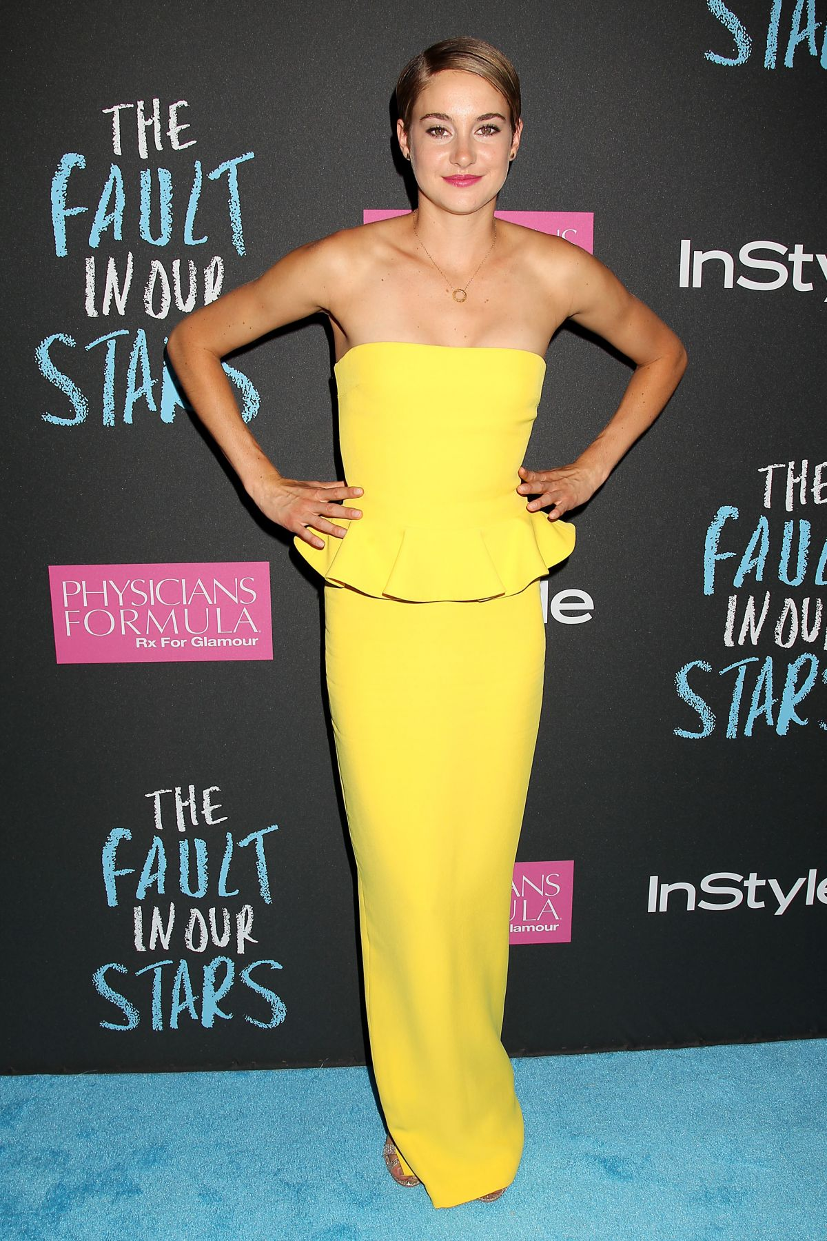 SHAILENE WOODLEY at The Fault in Our Stars Premiere in New ...