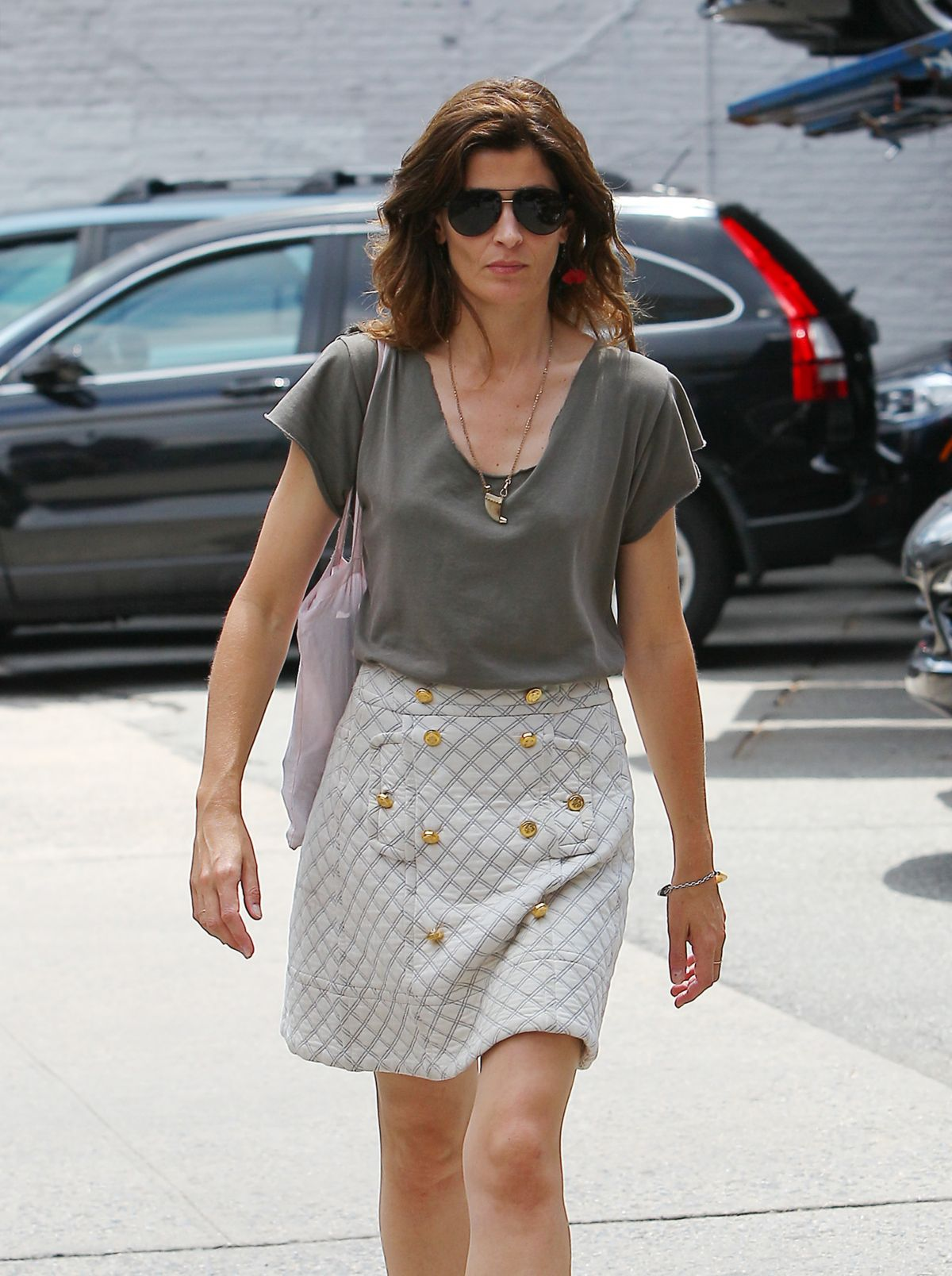 STEPHANIE SEYMOUR Out and About in New York