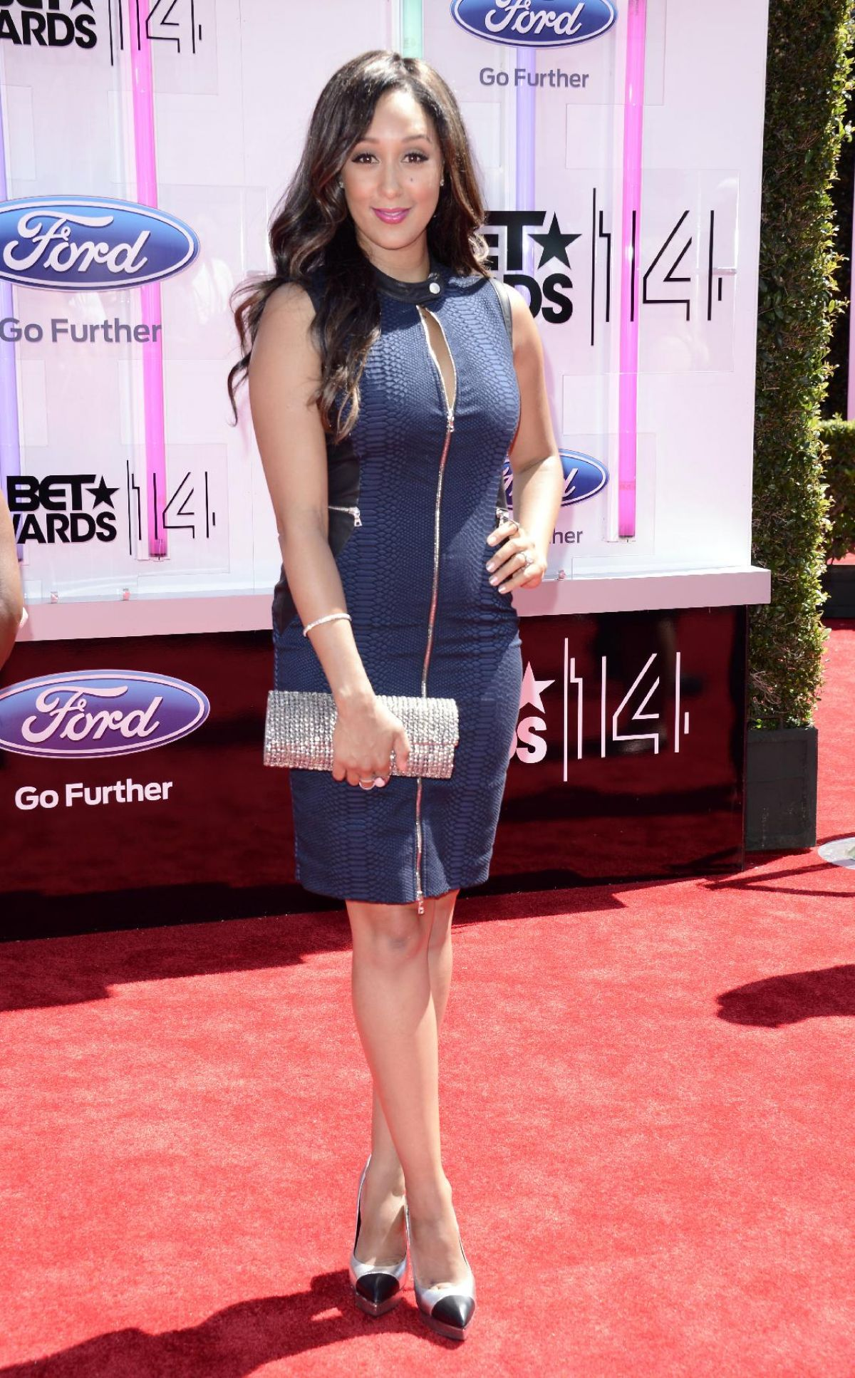 TAMERA MOWRY at 2014 Bet Awards in Los Angeles