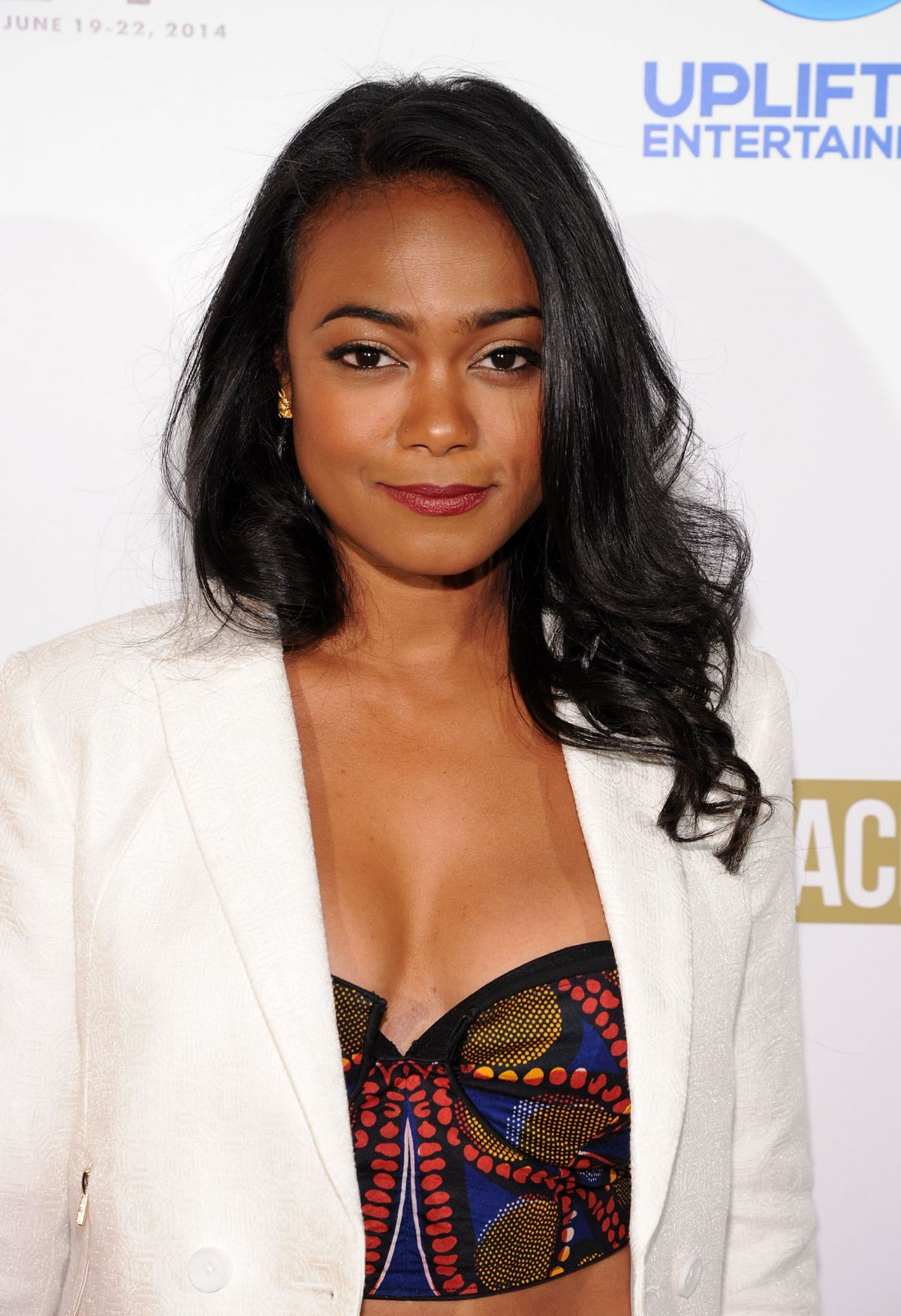 TATYANA ALI at Comeback Dad Premiere in New York