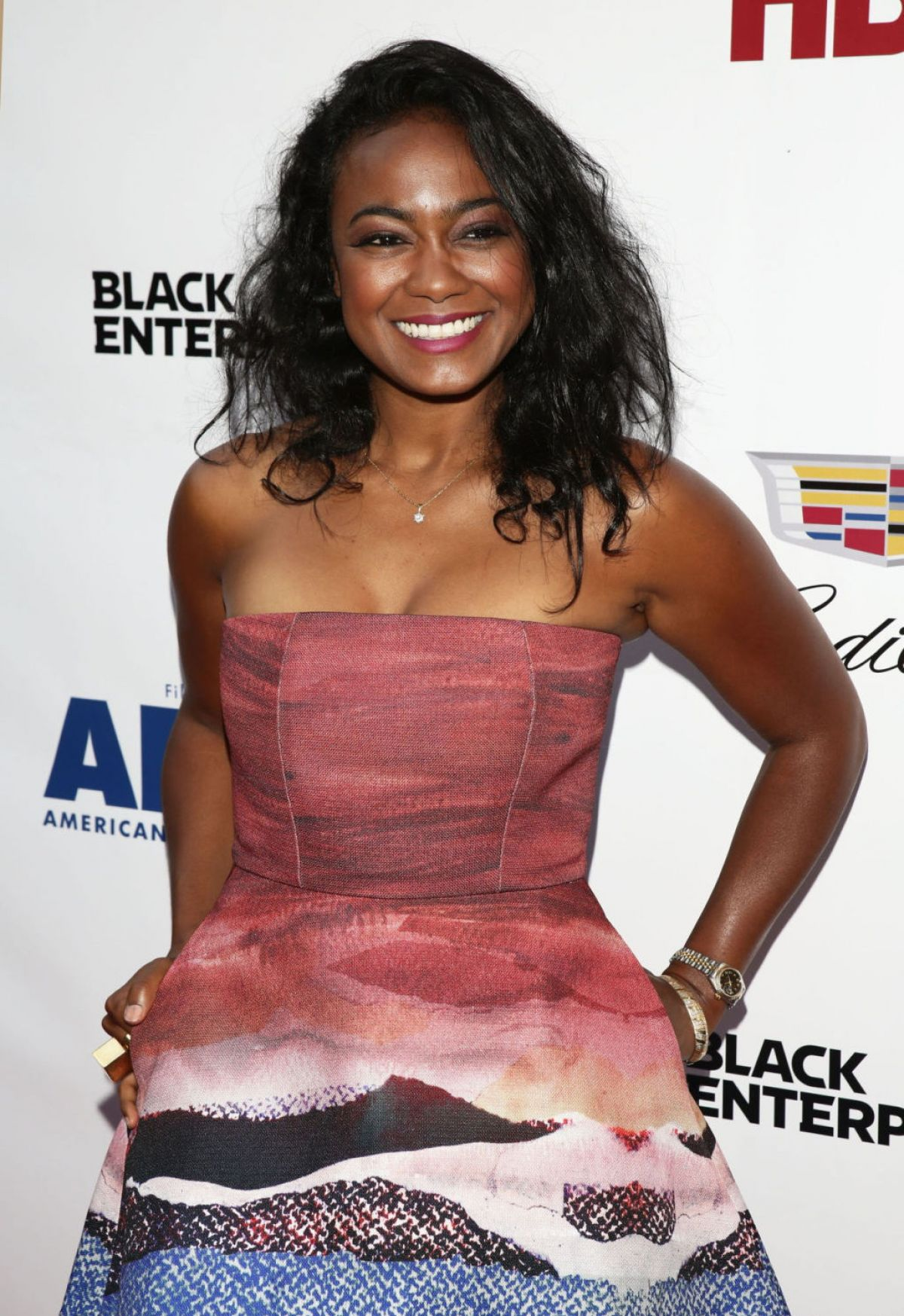 TATYANA ALI at Think Like a Man Too Premiere in New York