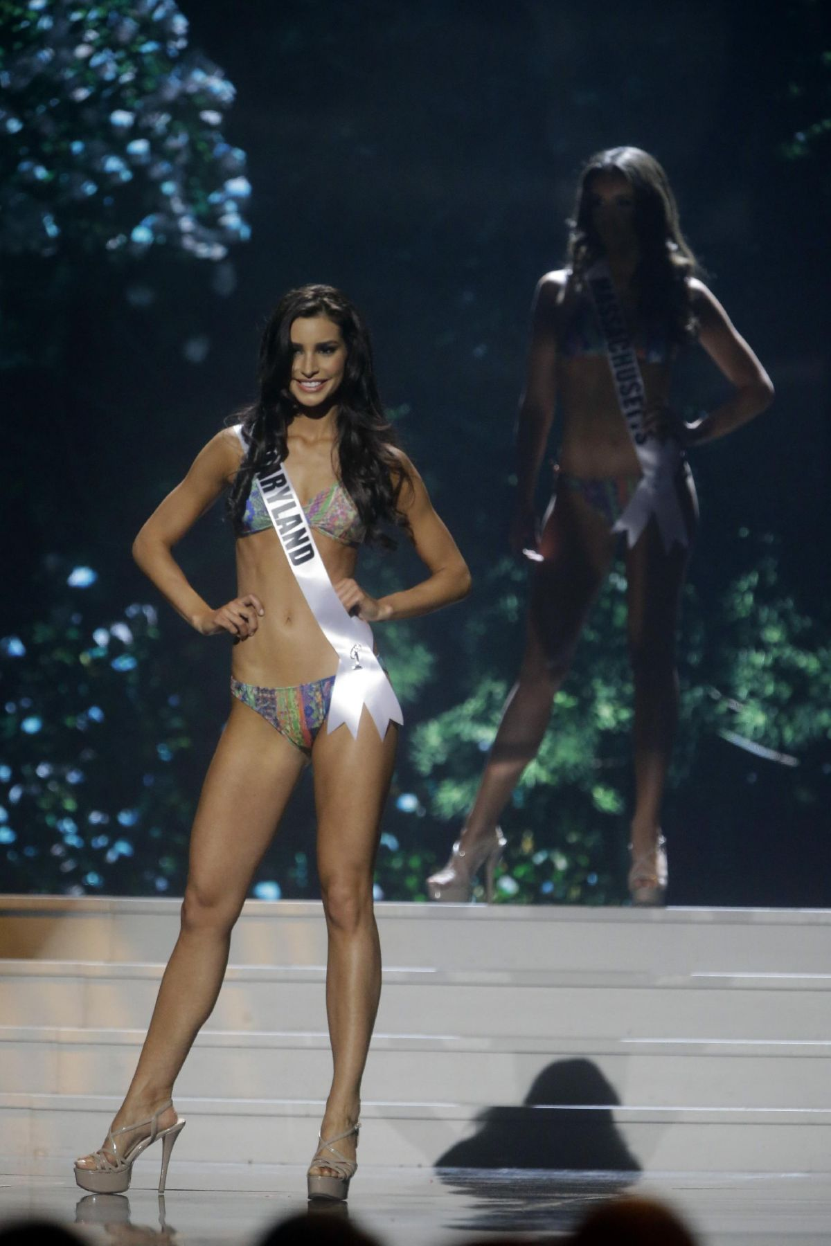 TAYLOR BURTON at Miss USA 2014 Preliminary Competition