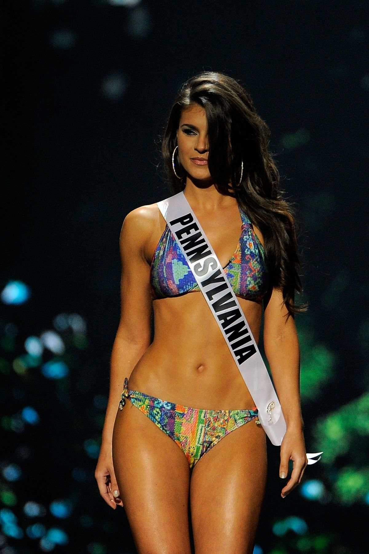 VALERIE GATTO at Miss USA 2014 Preliminary Competition