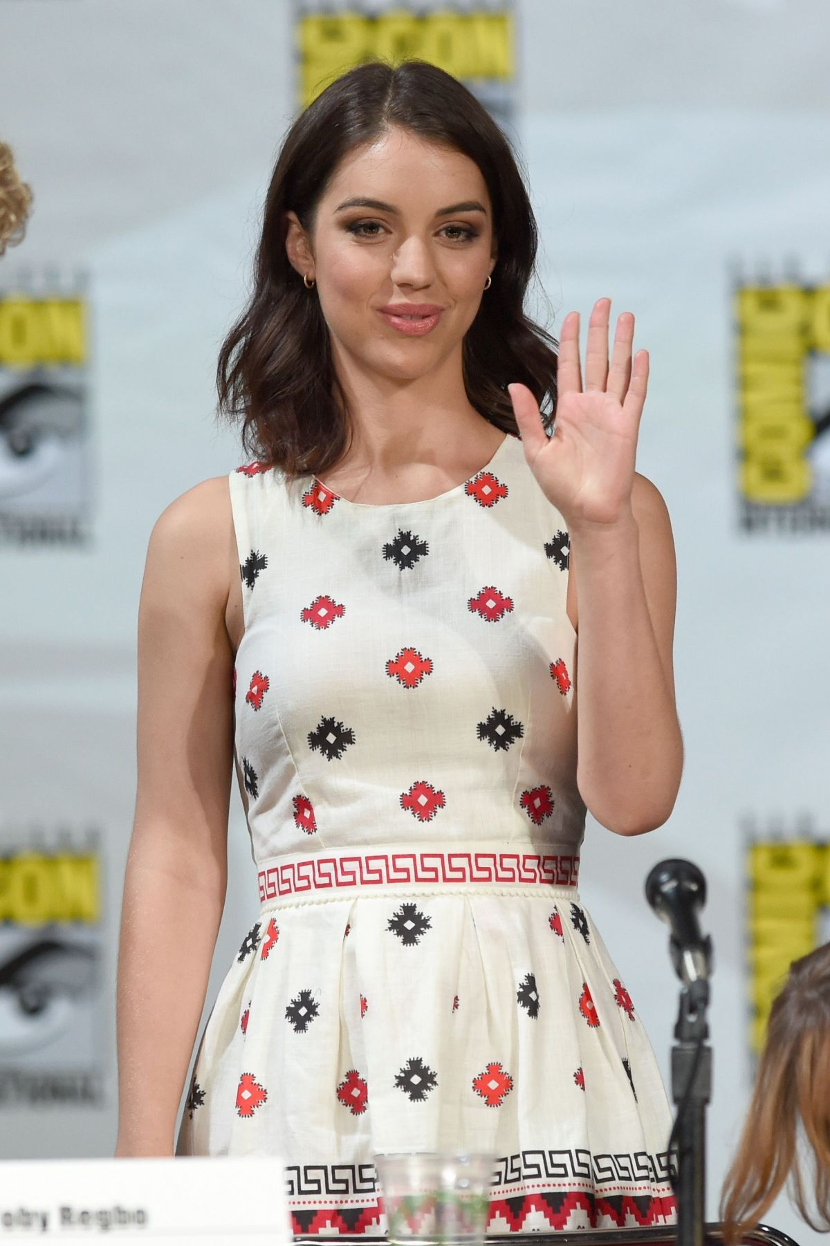 ADELAIDE KANE at CW Reign Panel at Comic-con 2014 in San Diego