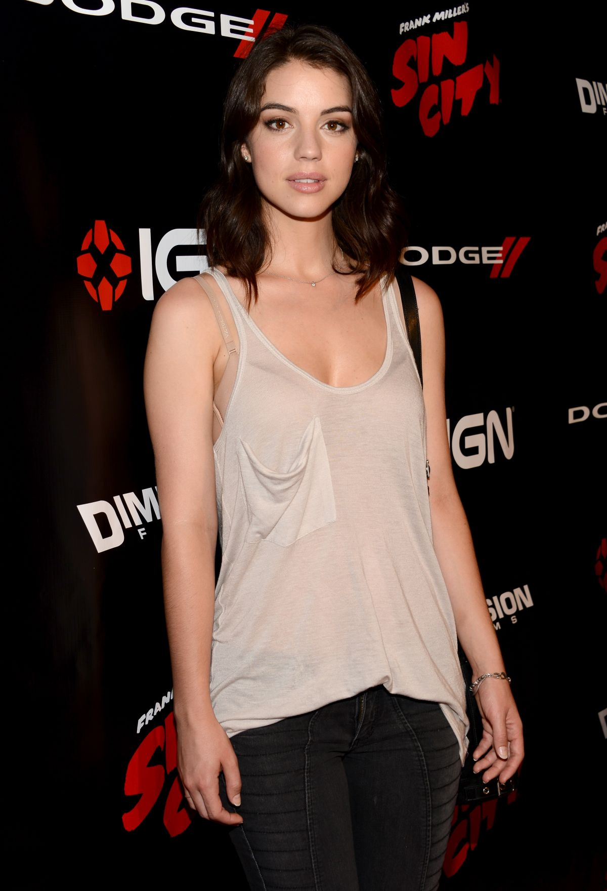ADELAIDE KANE at IGN Presentation at Comic-con 2014 in San Diego
