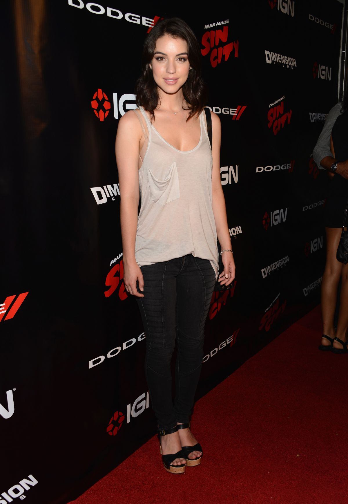 Adelaide Kane At Ign Presentation At Comic Con 2014 In San