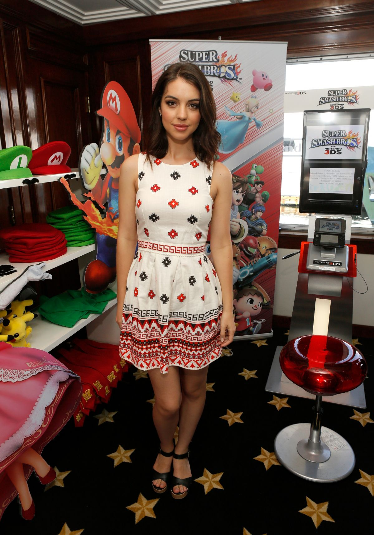 ADELAIDE KANE at Nintendo Lounge at Comic-con 2014 in San Diego