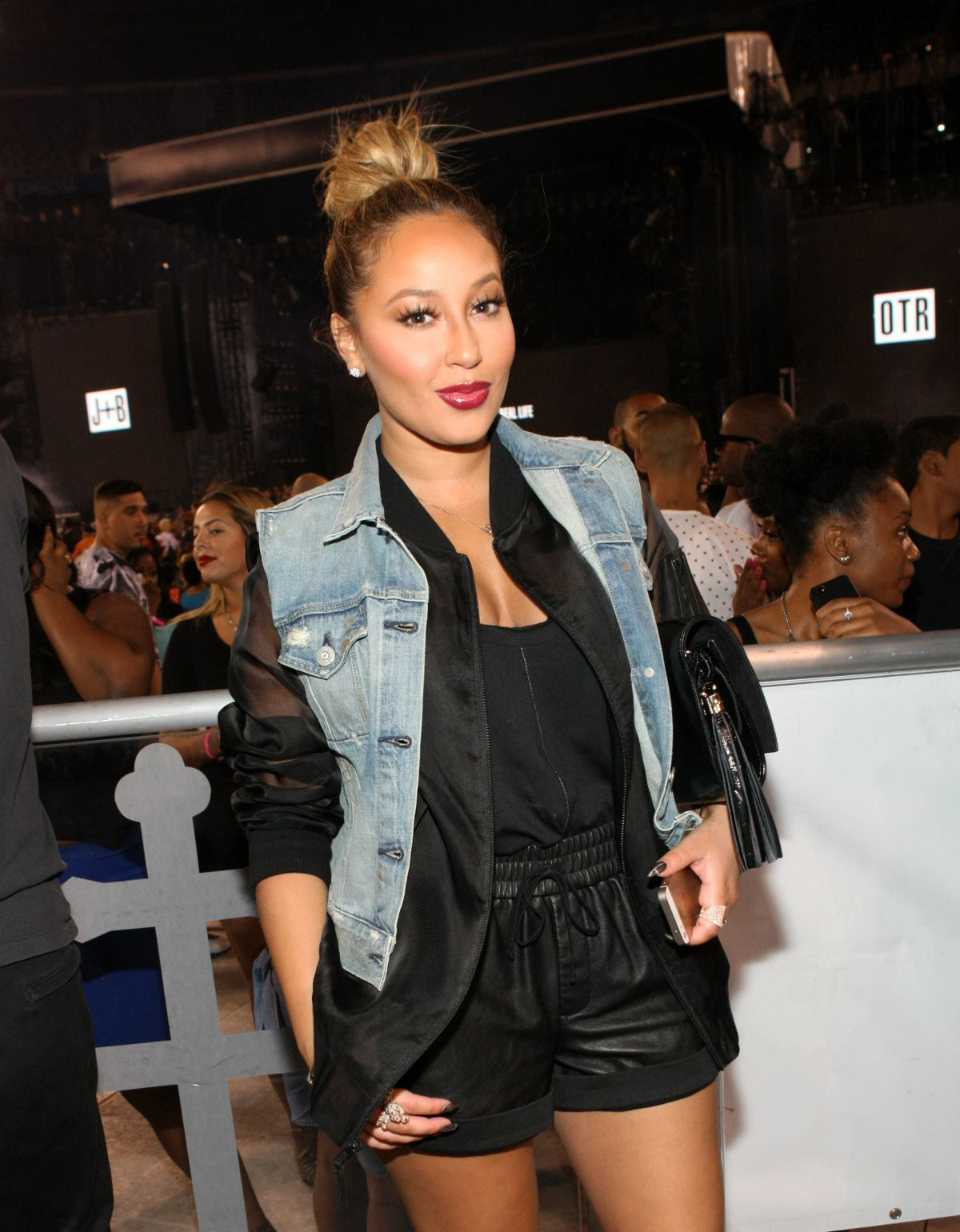 ADRIENNE BAILON at D