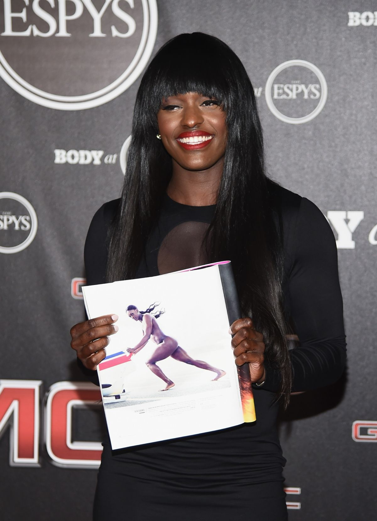 AJA EVANS at ESPN Presents Body at ESPYS