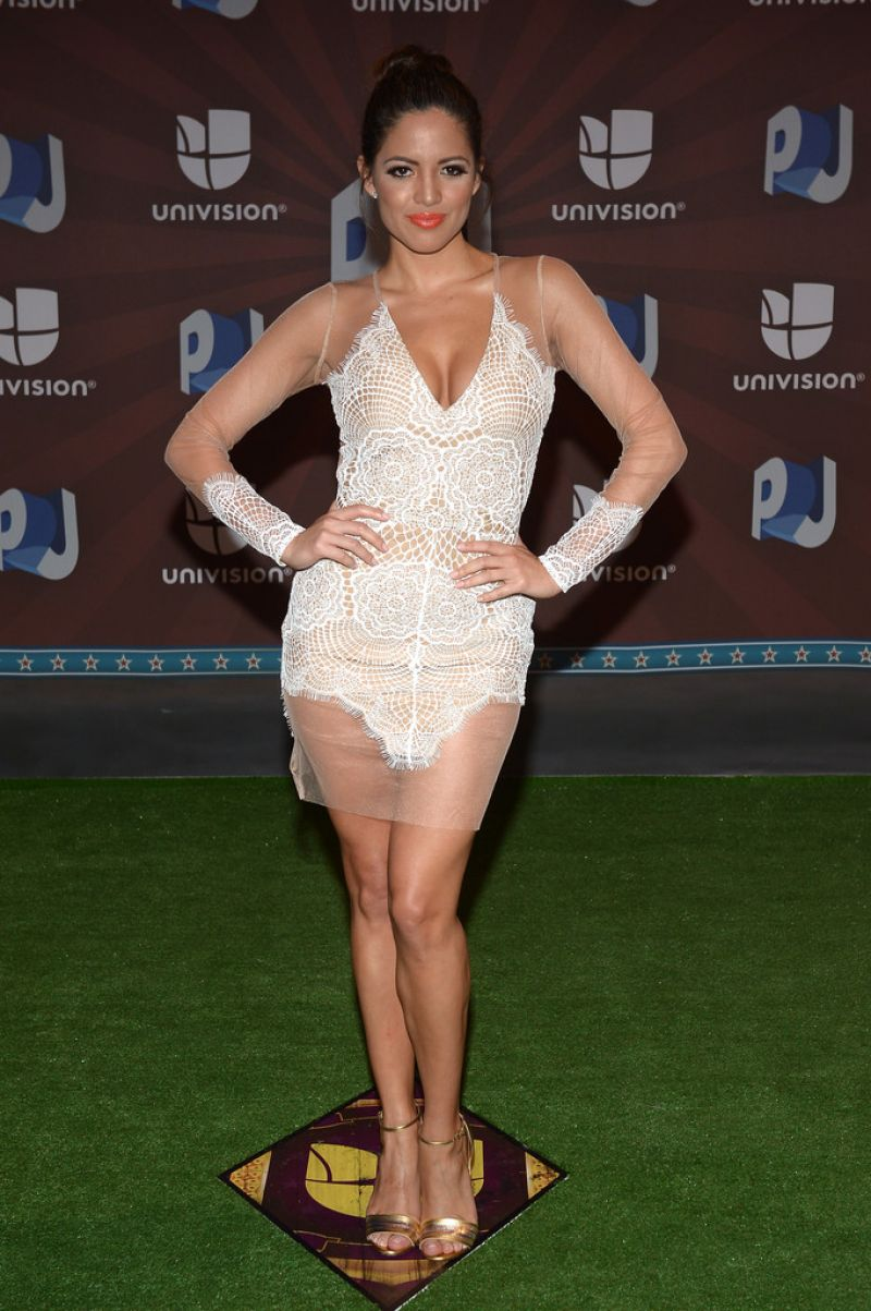 ALBA SENADORA at Premios Juventud 2014 in Coral Gables
