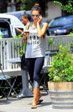 ALESSANDRA AMROSIO Out at Bentwood County Mart