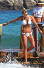 ALEX GERRARD in Bikinis at a Beach in Ibiza
