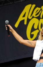 ALEXA GODDARD Performs at Wireless Festival in London