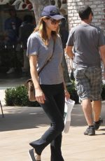 ALEXANDRA DADDARIO Out Shopping at the Grove in Los Angeles