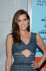 ALLISON WILLIAMS at Wish I Was Here Premiere in New York