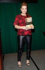 ALYSSA MILANO at Book Signing at Barnes and Noble in New York