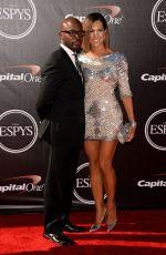 AMANZA SMITH BROWN at 2014 ESPYS Awards in Los Angeles