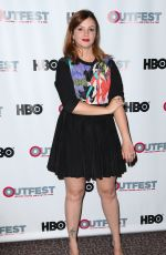 AMBER TAMBLYN at 2014 Outfest Screening of  X/Y in Los Angeles